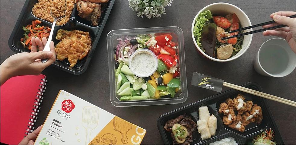 Beragam pilihan menu event mulai dari tradisional, Japanesse, hingga Western.