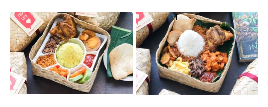 Diskon 20% untuk menu Nasi Kuning Tumpeng Mini Spesial dan Tumpeng Berkat.
