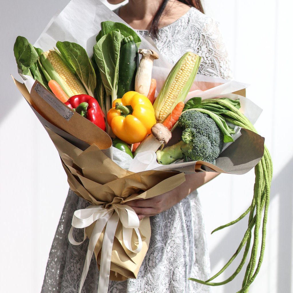 5. Alternatif Kado Valentine - Veggie Bouquet