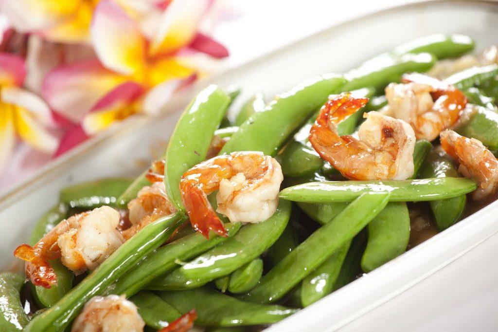 3. Tumis Buncis Udang Resep Sahur Sederhana dengan Bahan Seafood